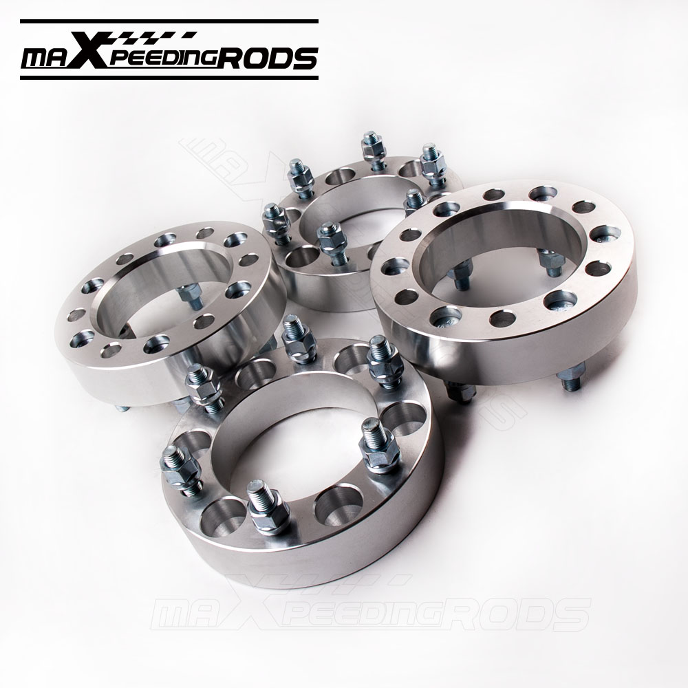 4PC 38mm Wheel Spacers For Toyota Lexus Isuzu Mitsubishi 6X139.7 12X1.5 CB=108MM  FIT LANDCRUISER PATROL PAJERO HILUX SALE