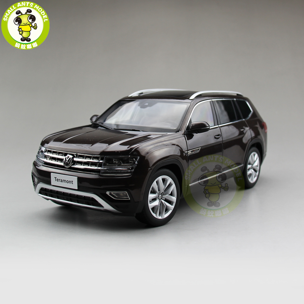 1 18 vw volkswagen teramont suv diecast metal suv car model toy gift hobby collection brown in. Black Bedroom Furniture Sets. Home Design Ideas