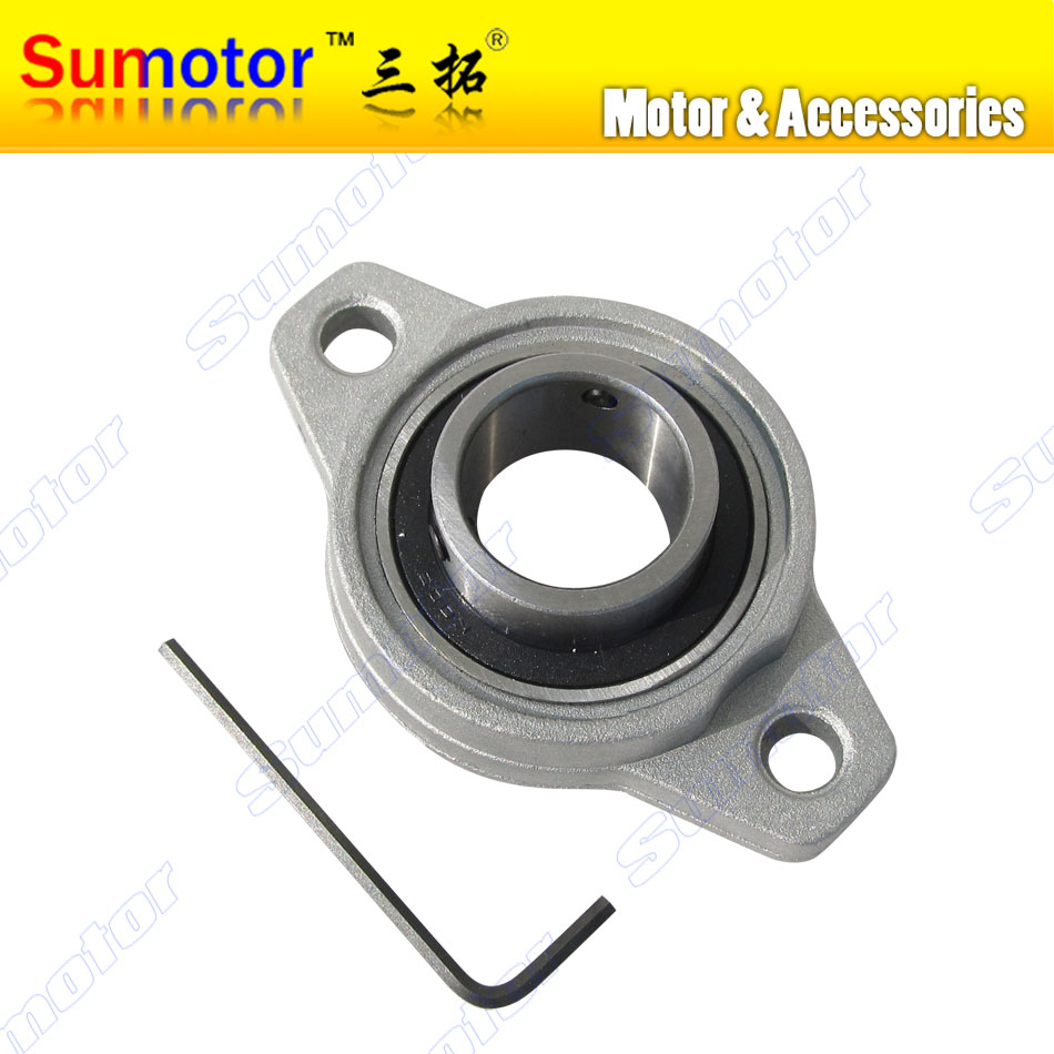 15mm KFL002 FL002 Pillow Block Bearing Flange Block Bearing