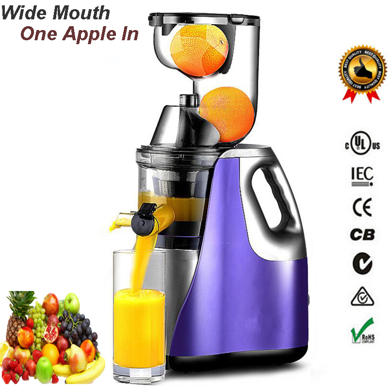 Jumbo Slow Juicer Signora : GERMAN Technology Large Mouth Slow Juicer