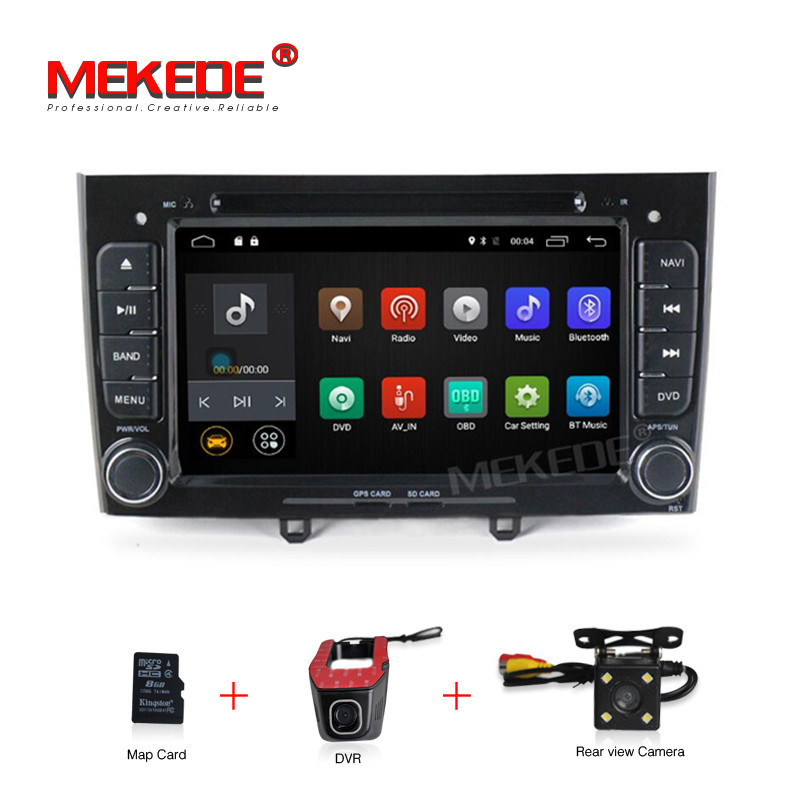 7 Quad Core Android 7.1 Car DVD multimedia For Peugeot 308 408 with WIFI Radio GPS Navigation 2G RAM 4G LTE Free shipping7 Quad Core Android 7.1 Car DVD multimedia For Peugeot 308 408 with WIFI Radio GPS Navigation 2G RAM 4G LTE Free shipping