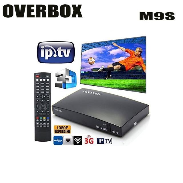 Amazon best seller OVERBOX openbox M9S HD Satellite TV Receiver Card Sharing NEWcam IPTV DVB-S2 satellite Receiver