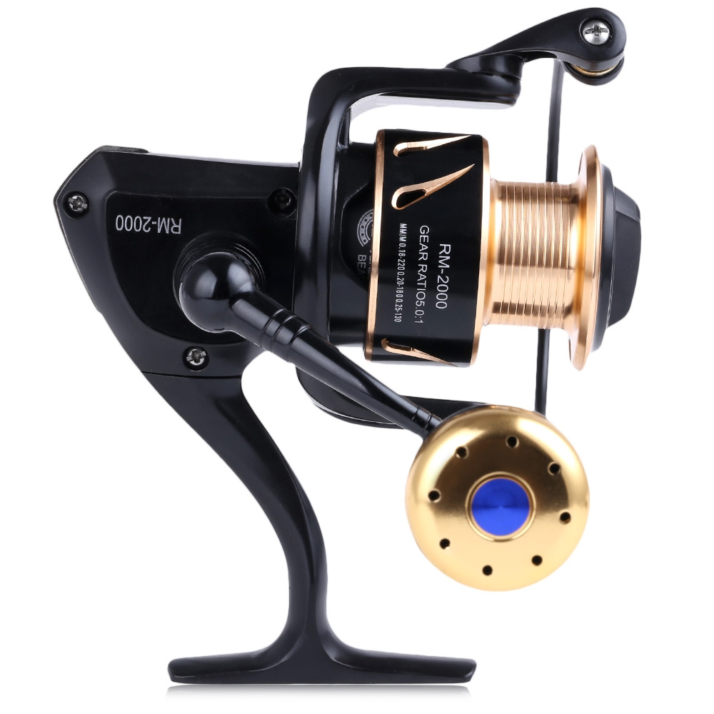 High Quality 13 Ball Bearing Full Metal Ocean Boat Type Fishing Spinning Reel 5.0:1 Fishing Coil Tackle Tools