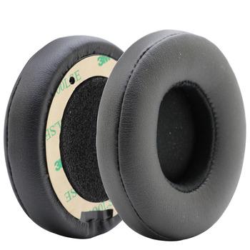 POYATU wymienne poduszki nauszne nauszniki na Solo 2 3 ucho bezprzewodowe wkładki douszne na beaty Solo3 słuchawki bezprzewodowe nauszniki czarne tanie i dobre opinie POYATU EarPads POYATU Ear Pads Headphone Earpads Replacement Ear Cushion Earpads Ear Pads Earbuds For Solo 2 Wireless Ear Pads