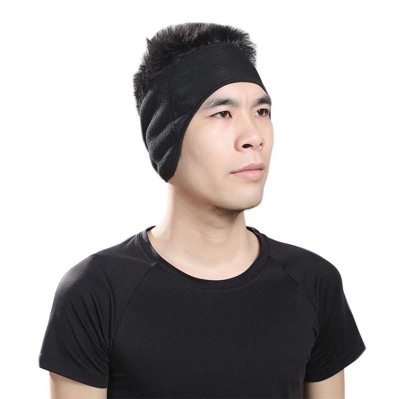Outdoor Sport Overgrip Cycling Running Headband Ear Warmer Head Band Fleece Ski Ear Windproof Headband Accessories Women Men Rn