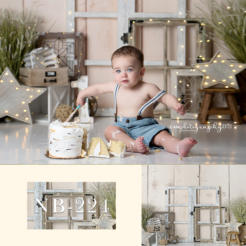Vinyl Photography Backdrops Newborn Boy Or Girl Bokeh Photographic Background Baby Shower Decorations Photocall Background Props