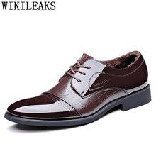 1b8c59001 Botas de couro de patente formal dos homens sapatos homens Botas sapatos de  escritório homens sapatos de marcas famosas sapatos .