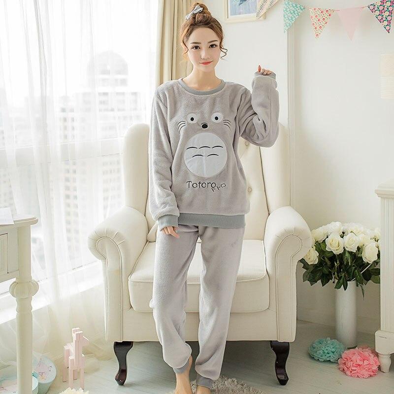 00fb97015f31 my neighbor Totoro Pajamas nightwear Nightgown Sleepsuit Winter Pajama  Sets-in Pajama Sets from Underwear   Sleepwears on Aliexpress.com