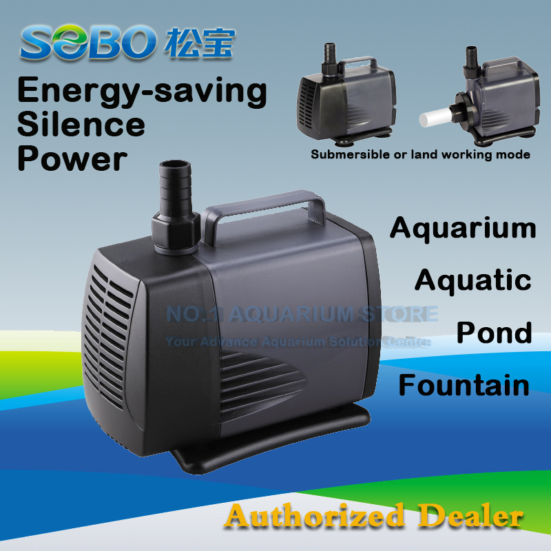 Us 47 99 Sobo Wp 8000 Submersible Water Pump Fish Pond Aquarium Tank Waterfall Fountain 220 240v 135w 6000l H In Pumps From Home Garden On