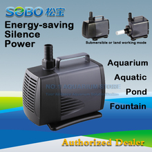 SOBO WP-8000 Submersible Water Pump Fish Pond Aquarium Tank Waterfall Fountain 220-240V 135W 6000L/H