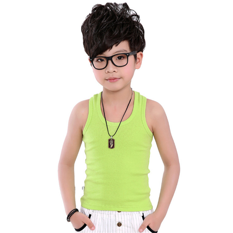 Baby Boys Tanks Children Vest Beach Clothing Baby Boy Summer Wear Tops  Cotton Sleeveless Kids Camisoles Sling underwear 1 9Years|kids camisole|boys  tanksbaby boy tank - AliExpress