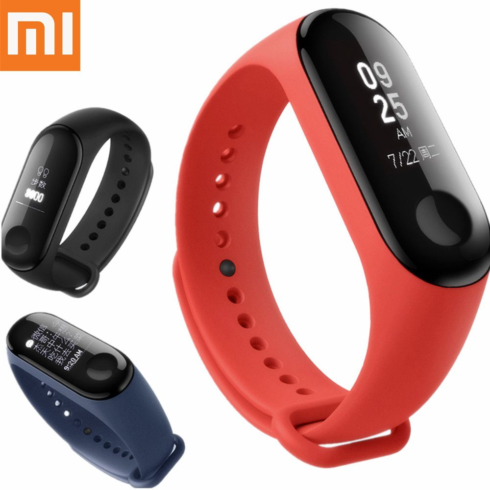 Xiaomi Mi Band 3 mi band 3 band Fitness Tracker Heart Rate Monitor Smart Wristband 0.78'' OLED Touchpad Bluetooth Android Gift [genuine] vontar 2 4ghz wireless backlit mini keyboard mx3 pro air mouse ir learning mode remote control for pc android tv box page 9 page 9 page 5 page 10 page 2 page 4 page 7
