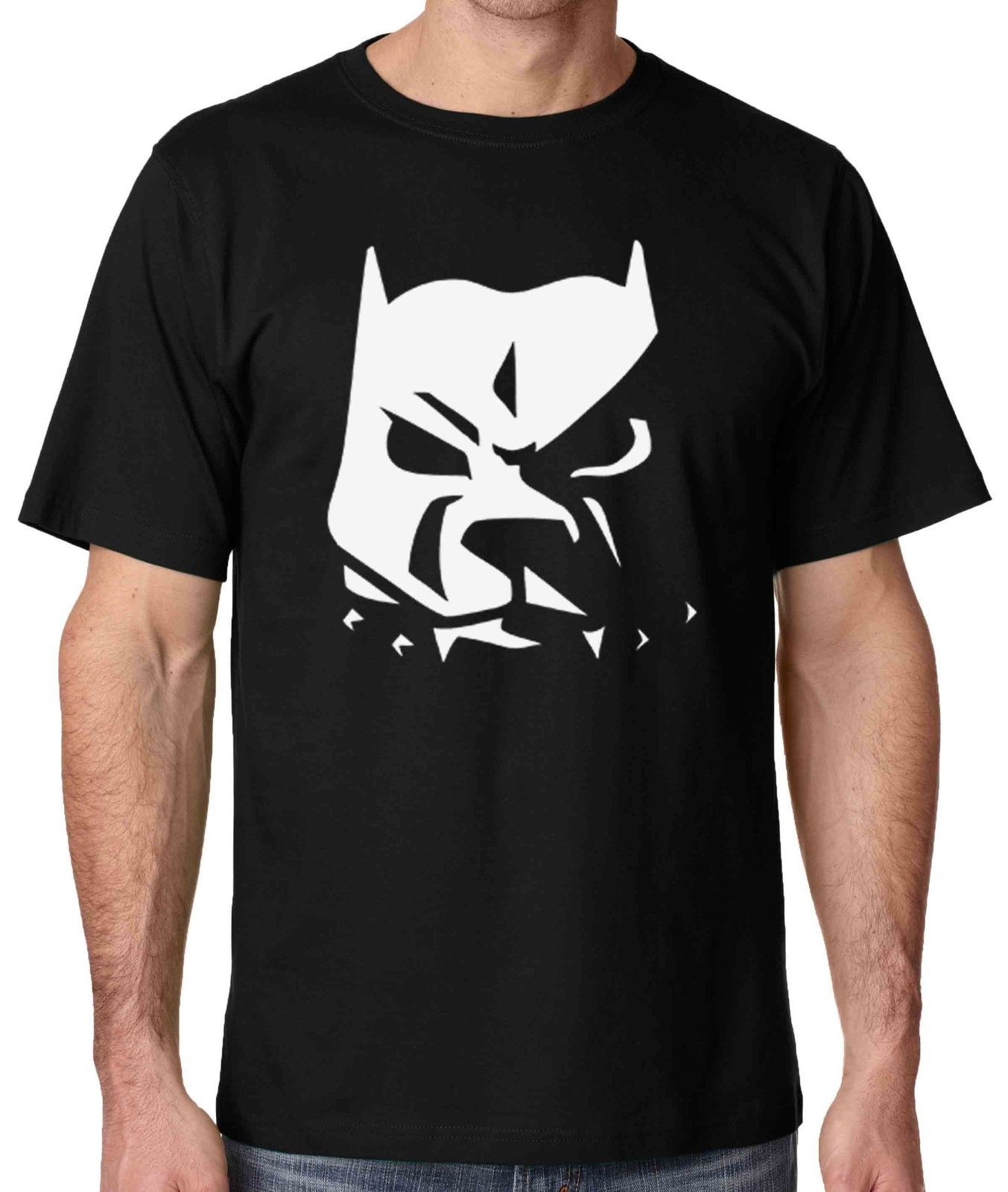 ФРС Pit Bull Face Мужская Pitbull футболка хулигана рубашка Размеры Sm 5X футболка Стиль Винтаж Тис Забавный футболка