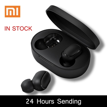 Xiaomi Redmi Airdots 5.0 TWS Bluetooth Earphone DSP Noise Cancellation With Charging box Mic handsfree AI Control Spots Headset