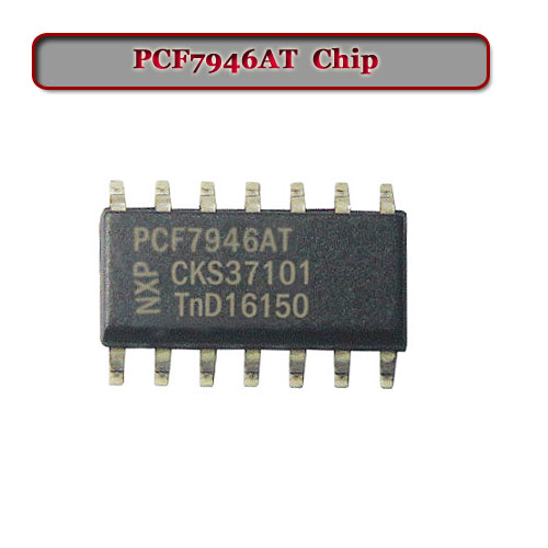 Free Shipping (10pcs/Lot) Pcf7946AT Transponder Chip For Renault Key