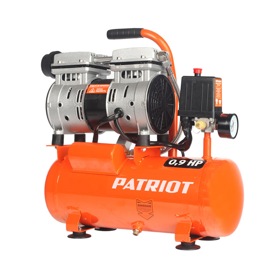Compressor electric PATRIOT WO 10-120 portable air compressor electric pump with barometer