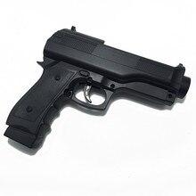 2 х черный светильник пистолет стрельба спорт видео игры для nintendo wii Пульт дистанционного управления