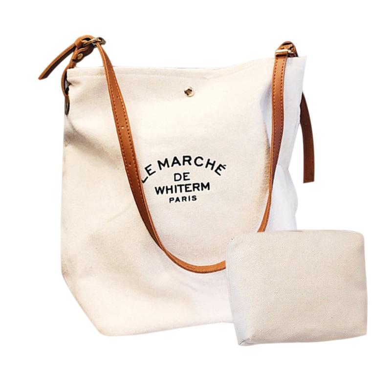 Women Lady Girl Shoulder Crossbody Bag Handbag Canvas Casual For Travel Shopping 88 9 Popular Сумка