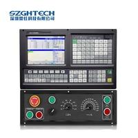 Yüksek performanslı 5 eksenli CNC denetleyici freze router makinesi ile ATC PLC 5 eksen usb cnc freze denetleyici