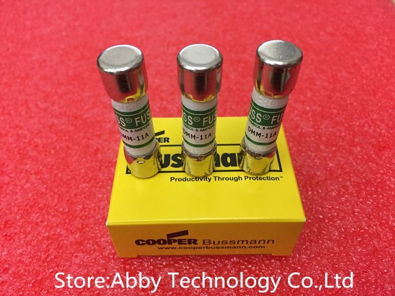1 Pcs BUSS DMM-B-11A 1000V 11A Ceramic Fuse AMP for FLUKE Multimeter