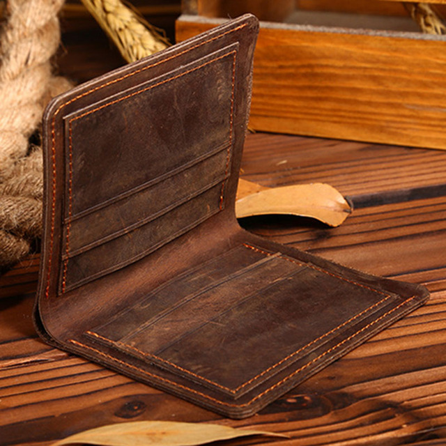Rough Leather Wallet