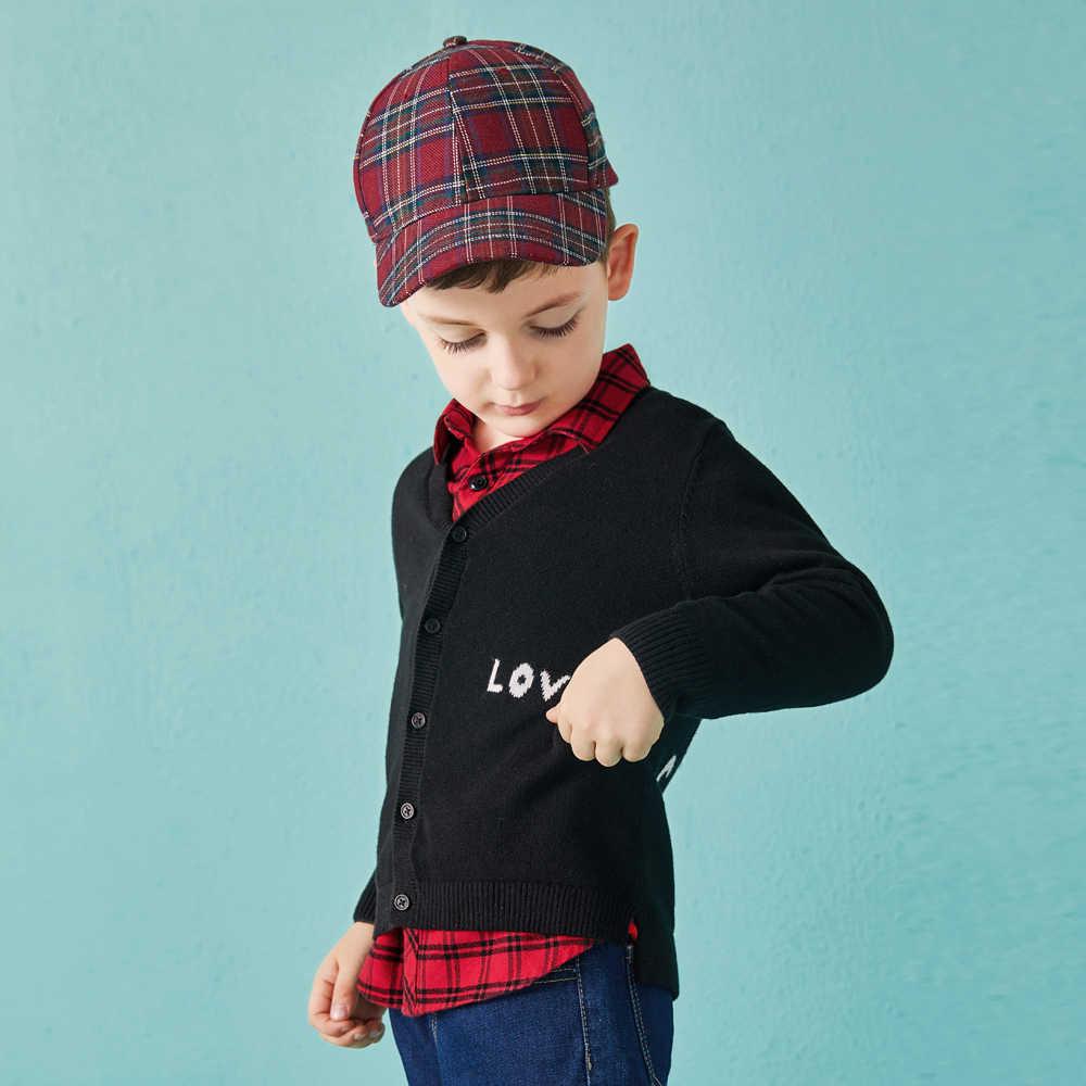 Balabala autunm vest voor een jongen peuter jongen trui kinderkleding kinderkleding kasjmier trui voor jongens kleding gebreide