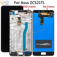 Pantalla LCD Digitalizador de pantalla táctil para Asus zenfone 3s max ZC521TL X00GD, montaje de cristal para Asus Pegasus ZC 521TL