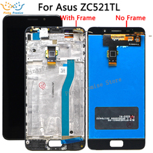 Per asus zenfone 3s max ZC521TL X00GD Display LCD Touch Screen Digitizer Assembly Vetro Per asus Peg asus ZC 521TL display