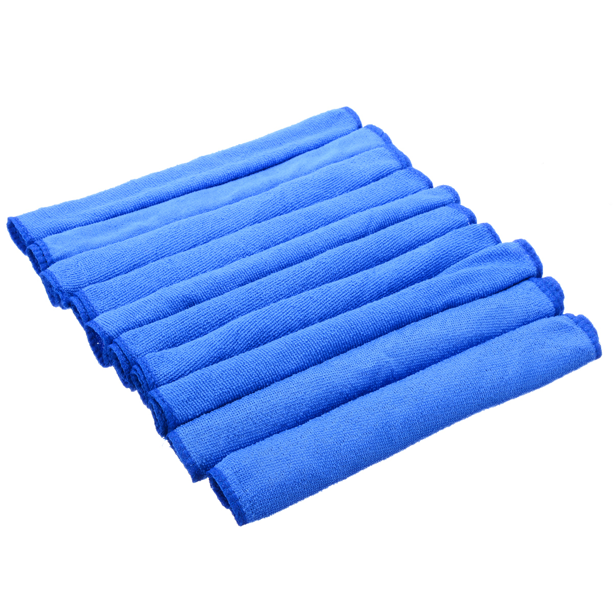 Image 4 - 10pcs Blue Microfiber Cleaning 30*30cm Auto Car Detailing Soft Microfiber Cloths Wash Towel Duster Home Cleaning Tools-in Car Washer from Automobiles & Motorcycles