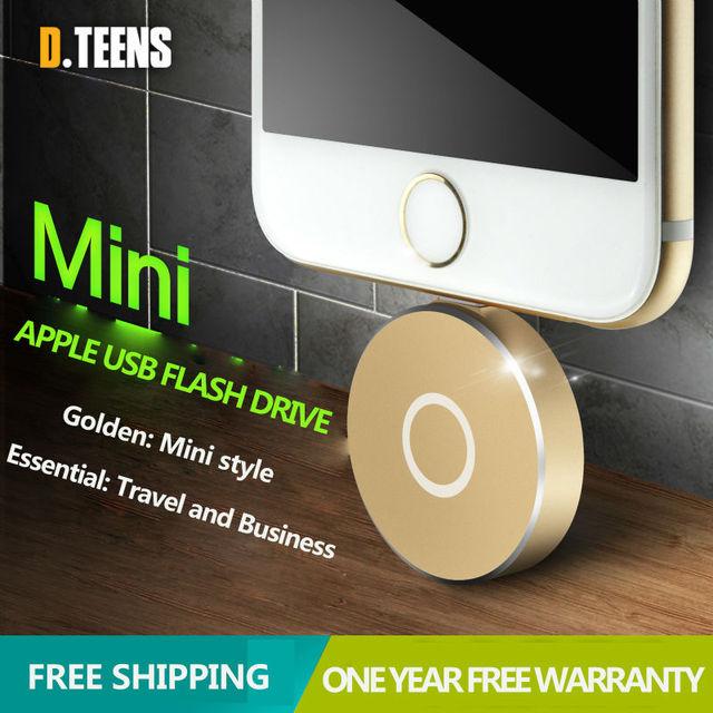32g mais novo usb iflash unidade hd u-disco de iluminação de interface para o iphone 5/6/5s/6 além de ipad air/ipod/mac/pc pendrive para iphone