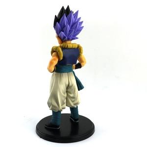 Image 4 - Dragon Ball Z Gotenks Standing Style Action Figure DBZ Goten Trunks Fusion Goku Super Saiyan Collection Model Toys 19cm