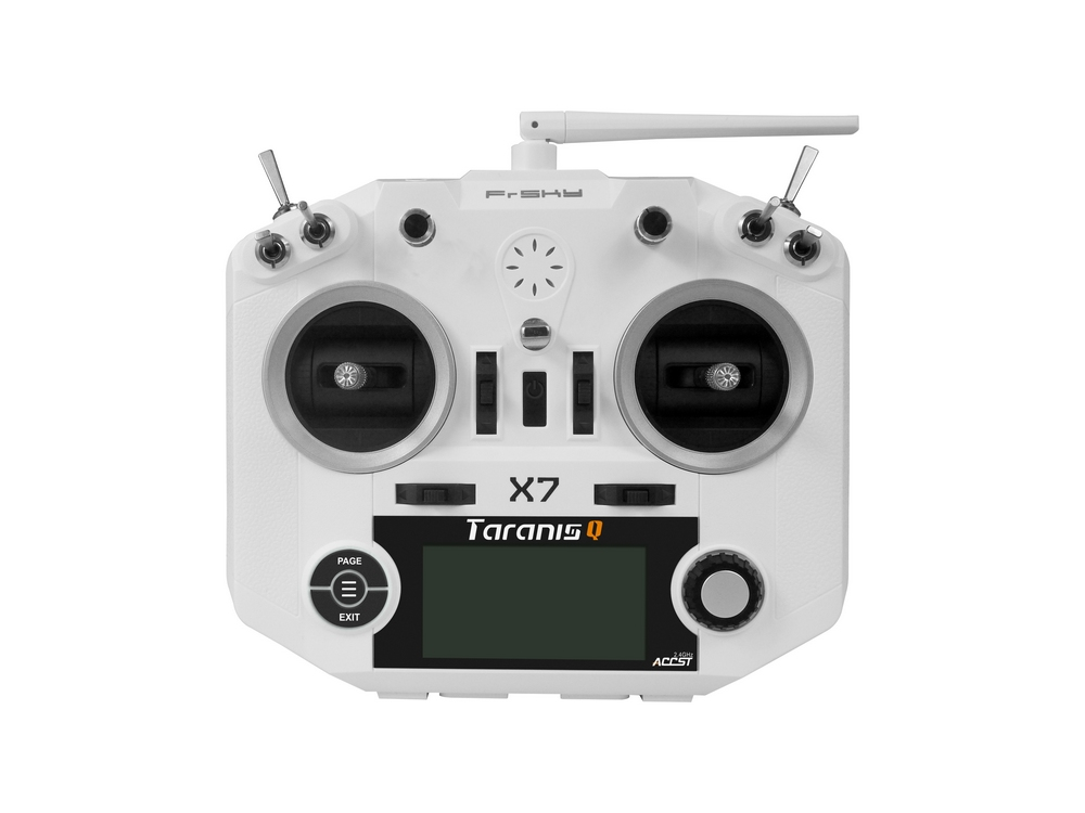 brand new White color FrSky ACCST Taranis Q X7 QX7 2.4GHz 16CH Transmitter