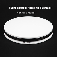 FALCONEYES 14 45cm 360 Degree Electric Rotating Turntable for Photography Display ,Max Load 40kg