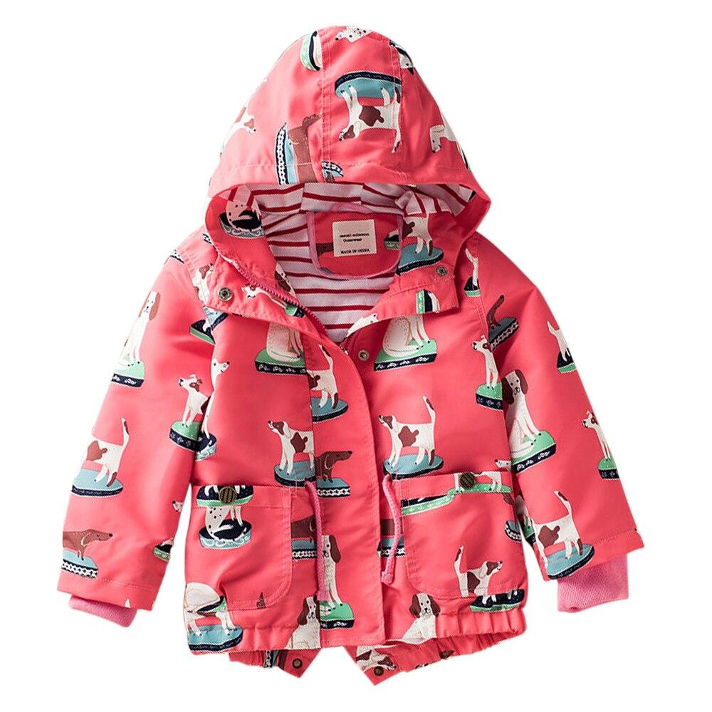 M34 Демисезонный куртка мальчиков девочки; дети пальто с капюшоном Детская куртка топы для девочек ветровка Детское пальто Детская тонкая ве...