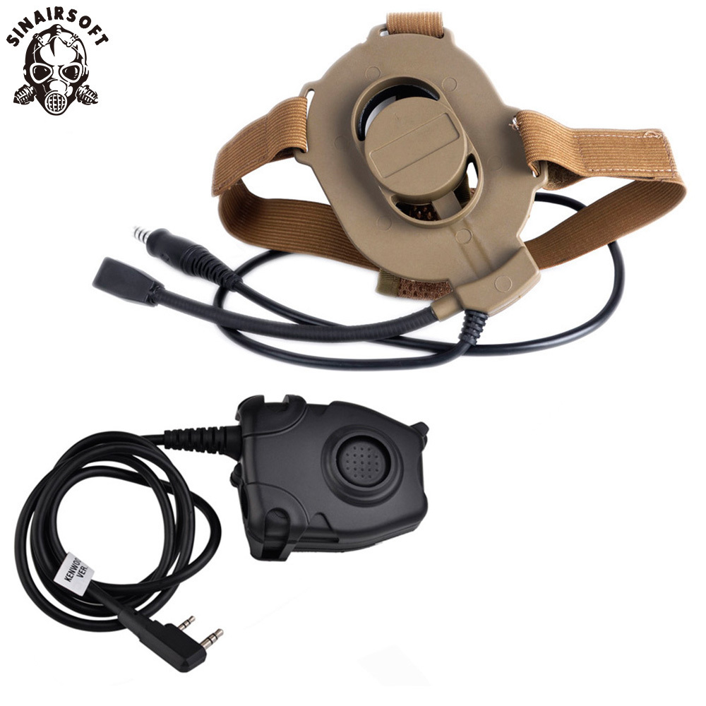 Z-Tactical Airsoft Bowman Elite II Headset Hunting For Kenwood Wearable Earphone Tactical Pins PTT Pin Military Z-TAC Midland DEZ-Tactical Airsoft Bowman Elite II Headset Hunting For Kenwood Wearable Earphone Tactical Pins PTT Pin Military Z-TAC Midland DE