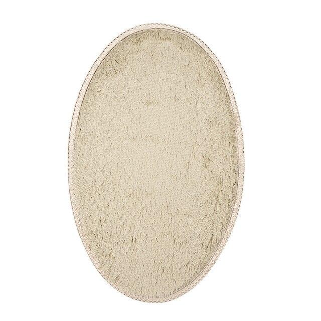 Casa e Cucina 30*50 cm Mat Anti-Skid Zona Fluffy Shaggy Tappeto Camera Da Letto di Casa Pavimento Del Bagno Porta Mat jan2