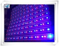 Best Sell 20pcs/lot 30x3w RGB Wateproof Linear Wall Washer Bar Light IP65 Outdoor Strip Disco Party Floorlight DMX Pro Lighting