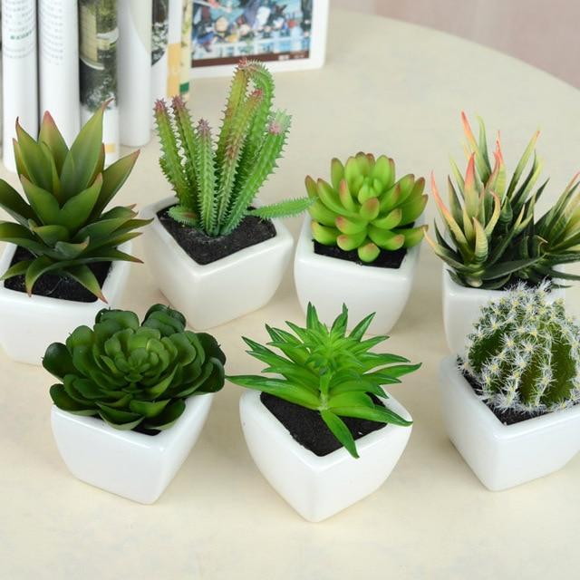 Flores artificiales para la decoraci n de seda plantas artificiales ramilletes de seda del baile - Decoracion con plantas artificiales ...