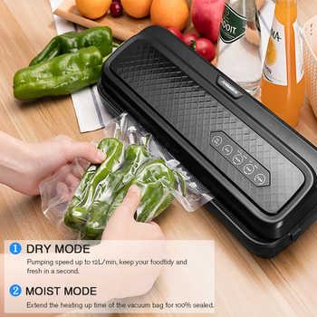 ANIMORE Food Vacuum Sealer Machine With 10pcs Bags Free For Food Saver Home Electric Packaging Machine Vacuum Sealer