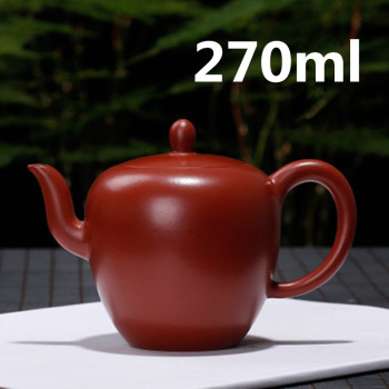 Teteras China Teapots Yixing Tea Pot Ceramic Teapot Infuser 270ml Meirenjian Hu New Design Famous Handmade Pots Drop Shipping
