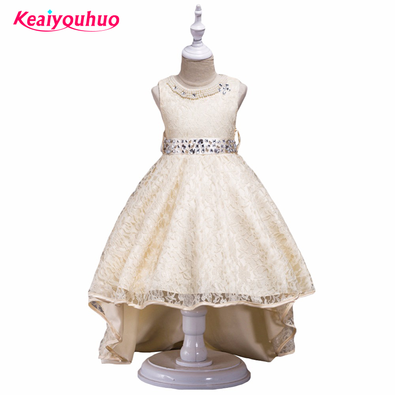 Girl Teens 3-14 Years Vestido 2018 Girl Dresses Elegent Princess party dresses Christmas Kids Evening Gown Children's Clothing