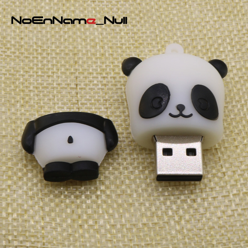 External Storage Usb Flash Drives Noennamenull Animal Panda Usb Flash Drive Mini Panda Pen Drive Special Gift Fashion Cartoon 8gb/16gb/32gb Lovely Memory Stick