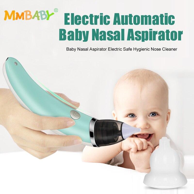 2018 Baby Nasensauger Elektrische Nase Reiniger Sniffling Ausrüstung Sicher Hygienisch Nase Rotz Reiniger Für Neugeborenen Kleinkind