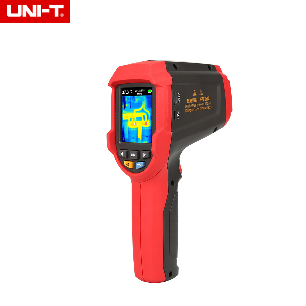 UNI-T UTi85 Infrared Thermal Imaging Camera -30C to 450C Degree 4800 pixels High Resolution Color Screen uni t uti160a infrared thermal imaging meter thermal imaging camera
