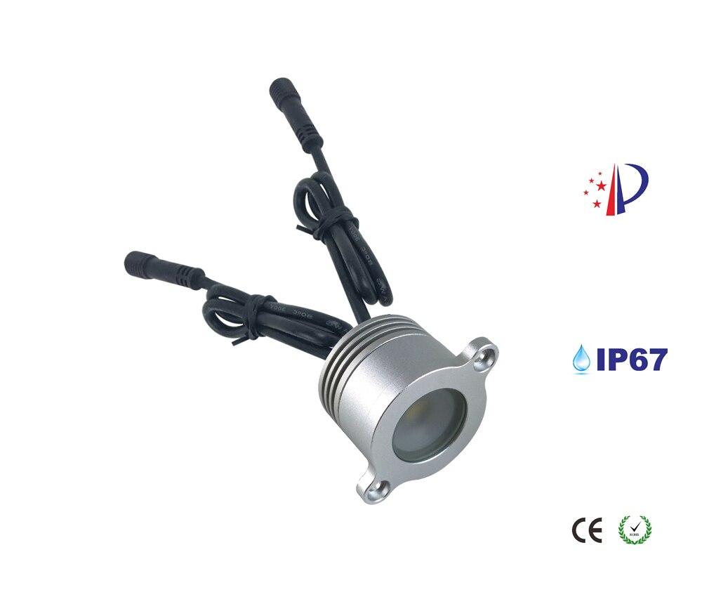 Inset Light Rail: 1W LED Rail Lighting IP67 Recessed DownLight 120D
