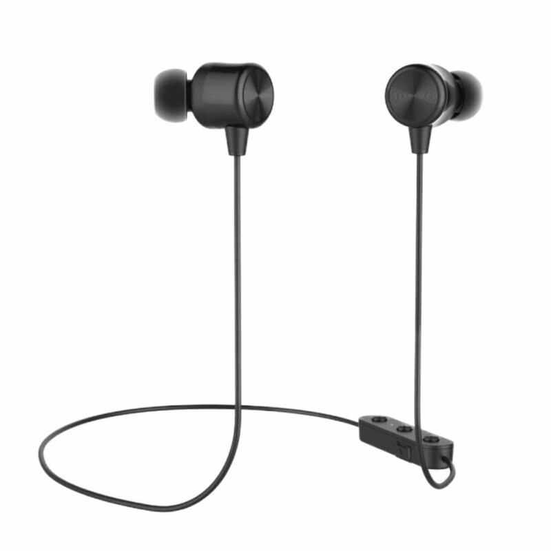 Bezprzewodowe słuchawki sportowe Bluetooth 5.0 słuchawki douszne x-neck Halter Magic B słuchawki douszne kontrola drutu pszenica miękki komfort materiału
