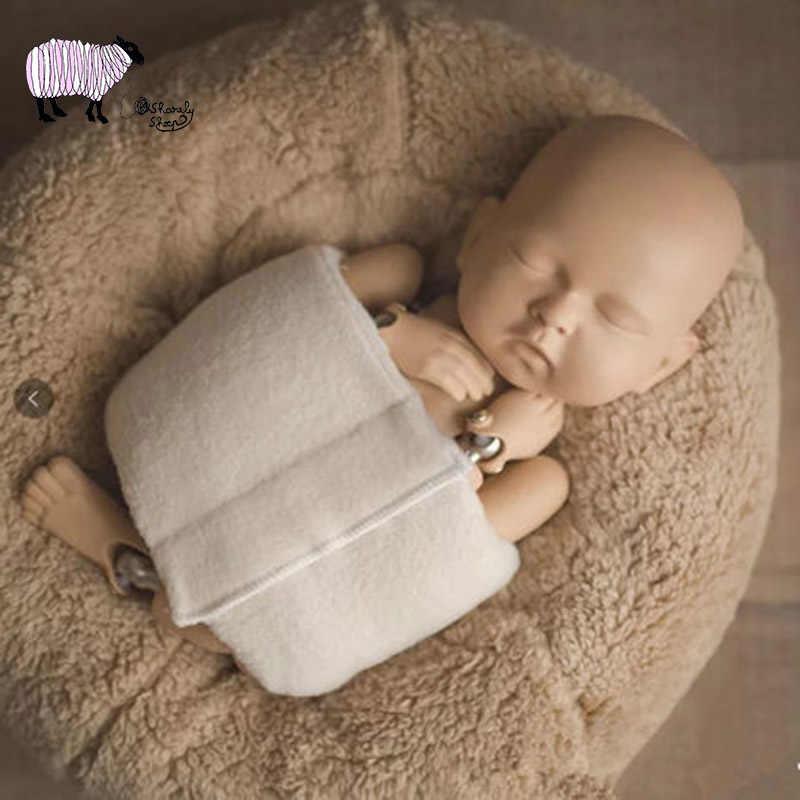 Sơ Sinh Chụp Ảnh Hỗ Trợ Tạo Dáng Bọc Đạo Cụ Bé Trai Bé Gái Chụp Ảnh Phòng Thu Len Đạo Cụ Trẻ Sơ Sinh Bebe Fotografia Phụ Kiện