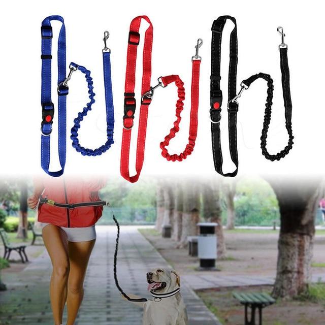 Cintura in vita Per Pet Collare di Cane Guinzaglio Corsa e Jogging Cucciolo di P