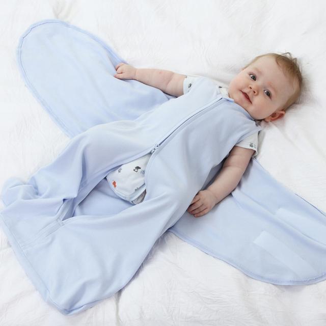 0-6 M Sleepsack Swaddle Do Bebê Do Algodão Saco de Dormir Envoltório Swaddle Recém-nascidos Meninos Meninas Saco Cama Saco De Dormir Dormir Para Bebes
