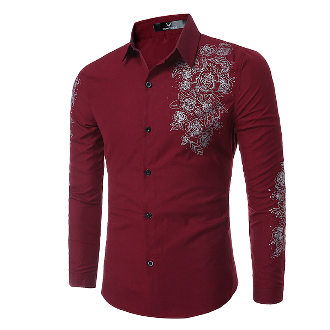 Online Get Cheap Men Button up Shirts Casual Print -Aliexpress.com ...